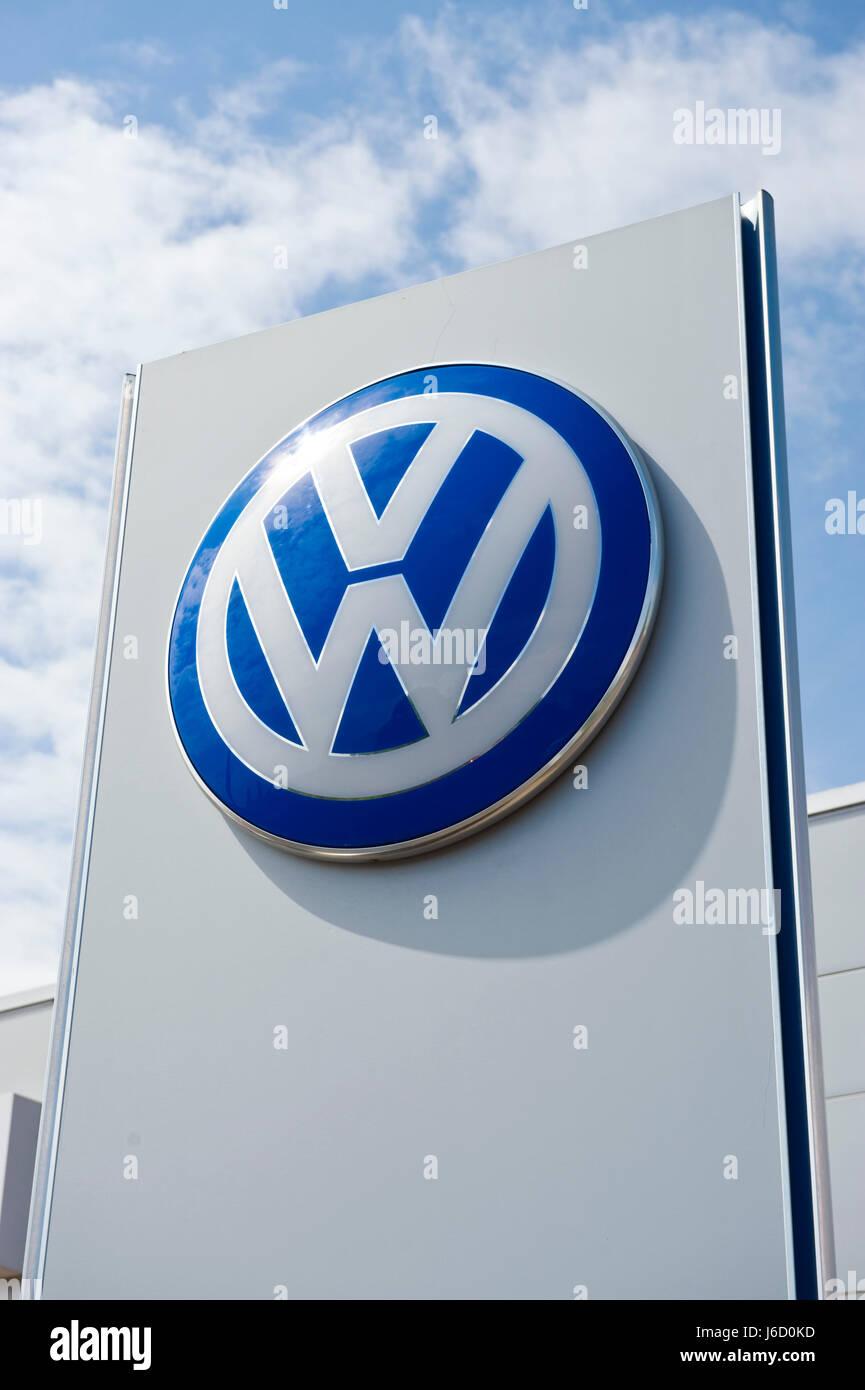 Volkswagen Dealer Stock Photos Amp Volkswagen Dealer Stock