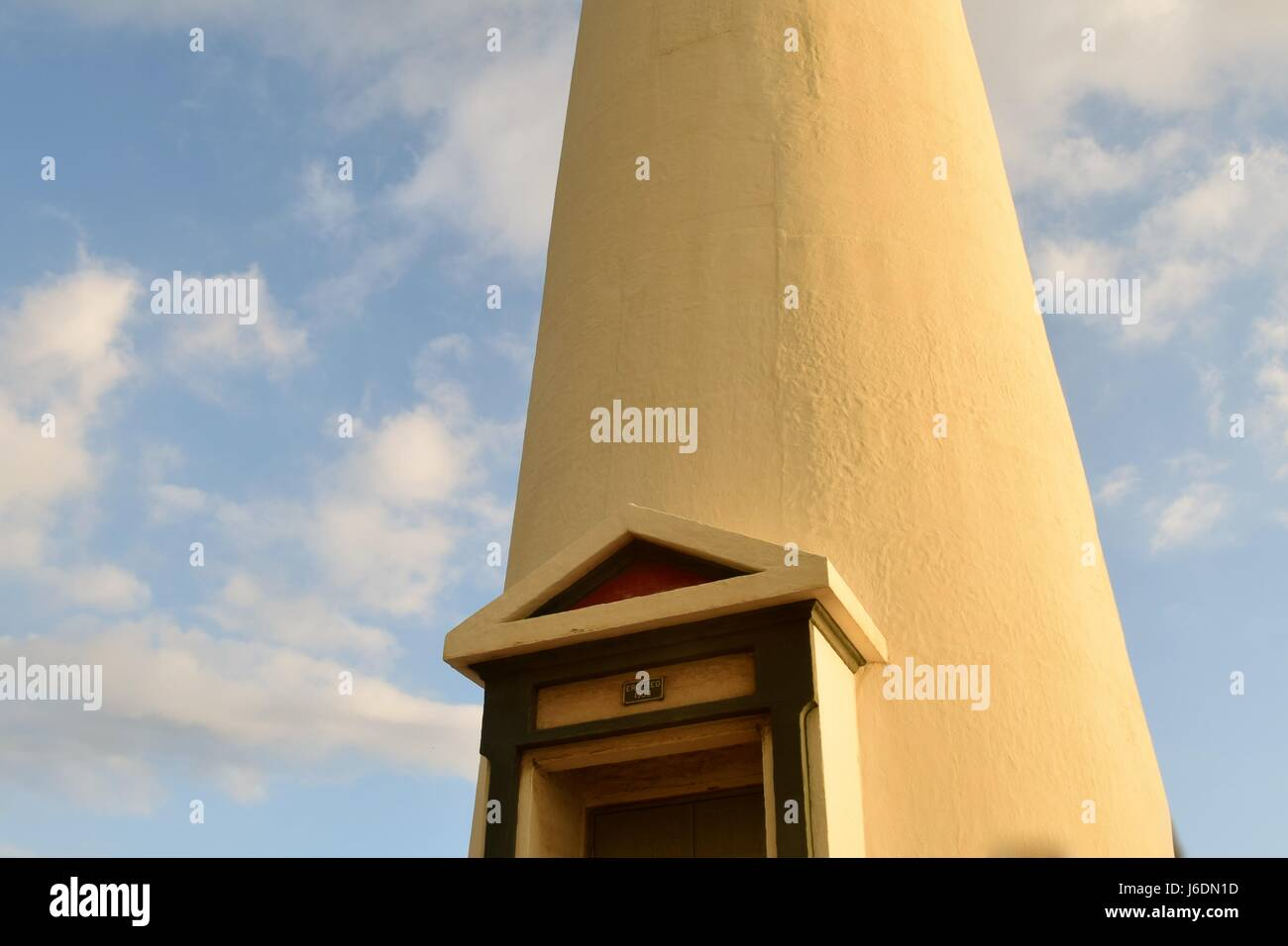 Barbers Point Light House, located on Oahu, Hawaii. - Stock Image