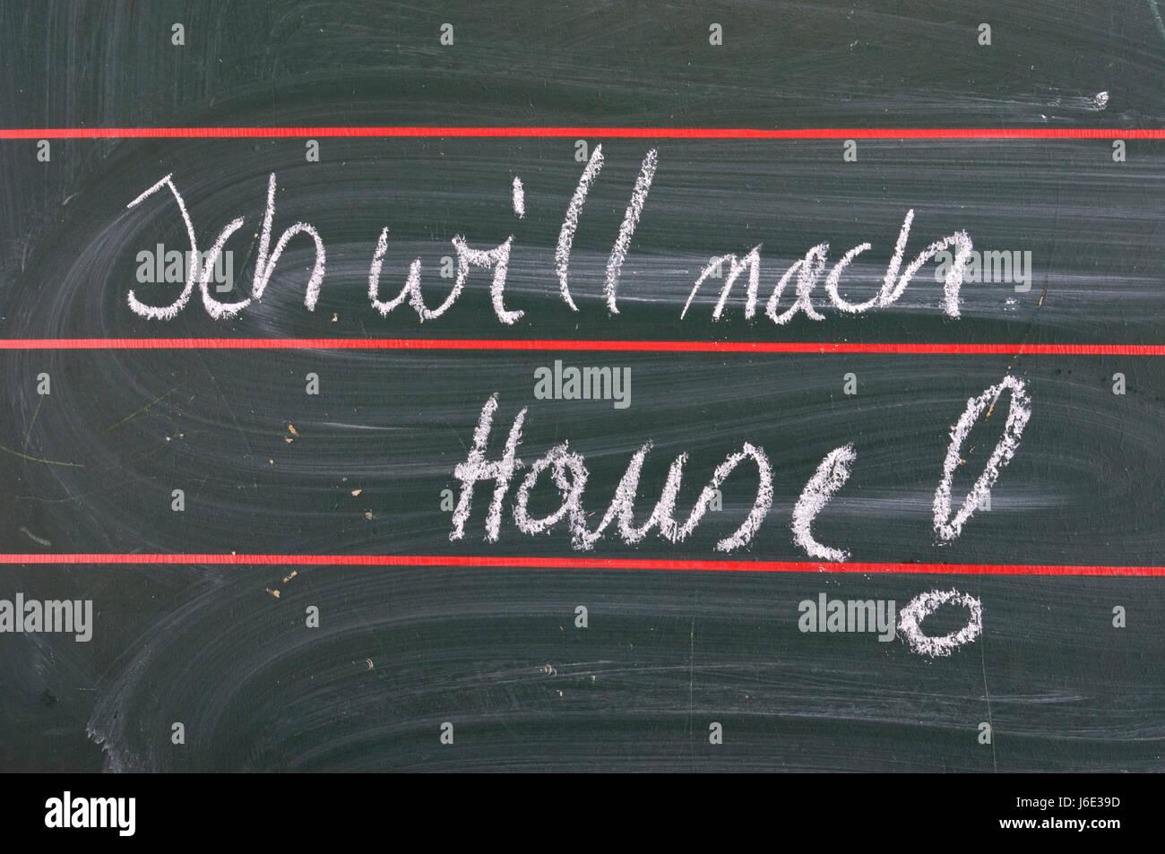 homesickness - Stock Image