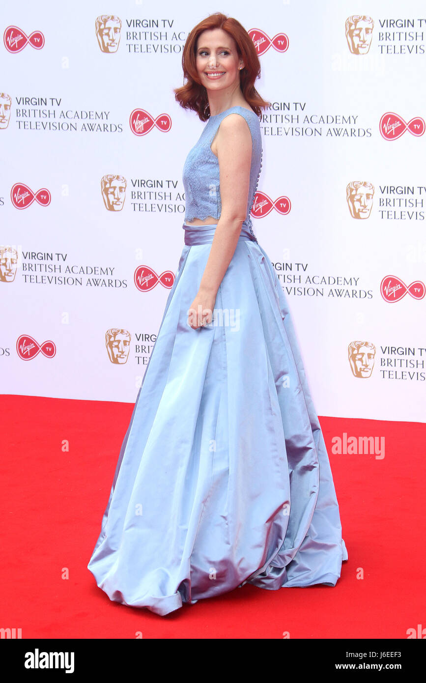 May 14, 2017 - Amy Nuttall attending Virgin TV BAFTA Television Awards 2017 at The Royal Festival Hall in London, Stock Photo