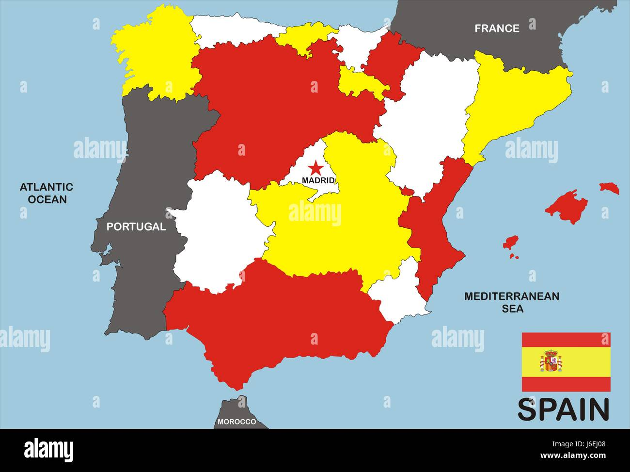 Spain map atlas map of the world profile travel isolated chart spain map atlas map of the world profile travel isolated chart emblem europe gumiabroncs Images