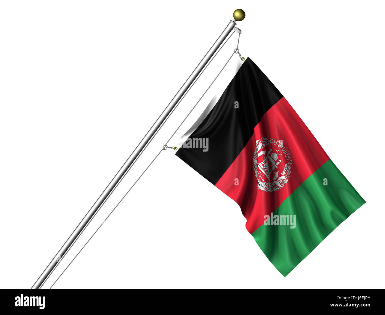 isolated asia flag pole afghan asian afghanistan isolated colour asia flag pole  sc 1 st  Alamy & isolated asia flag pole afghan asian afghanistan isolated colour ...