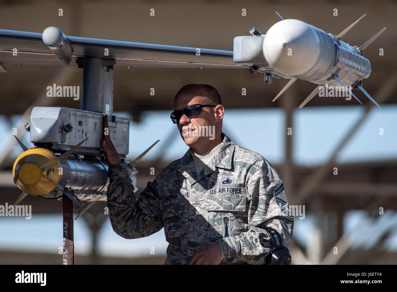 Senior Master Sgt  Eugene Gaspar, 301st Fighter Wing weapons manager