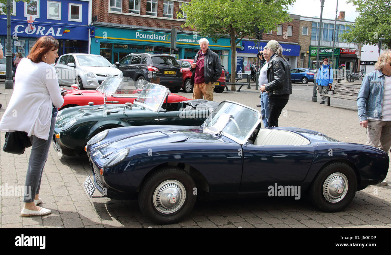 Biggleswade, Bedfordshire, UK on May 21st 2017. Berkeley cars made ...
