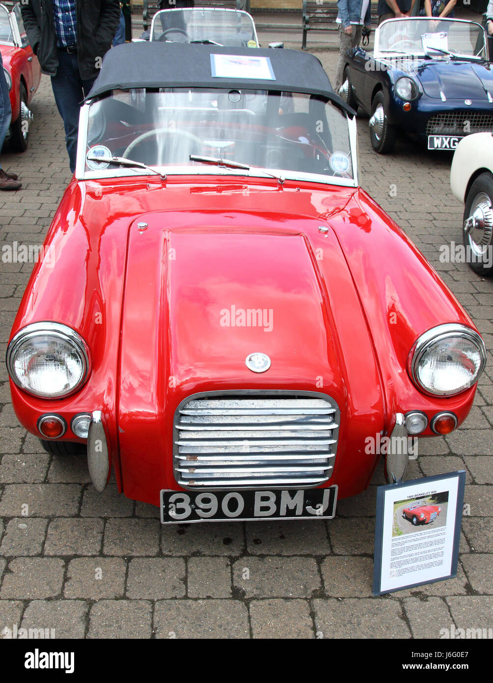 Biggleswade, Bedfordshire, UK on May 21st 2017. Berkeley cars made ...
