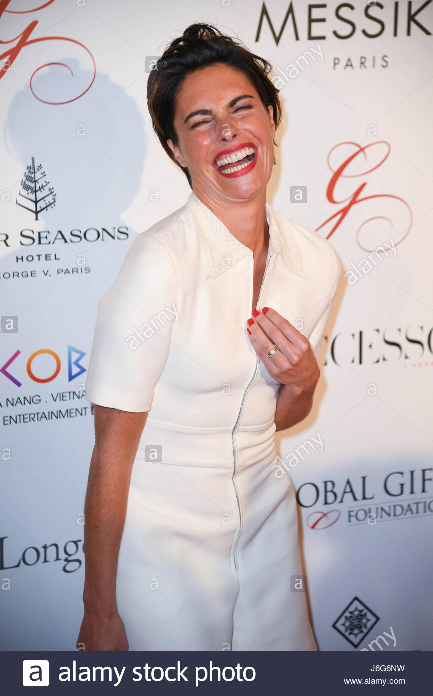 Alessandra Sublet Attends The The Global Gift Gala At The Four Seasons  Hotel George V In Paris On May 16, 2017. Money Raised By The Gala Will ...