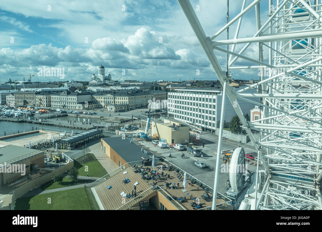 View of Helsinki Finland - Stock Image