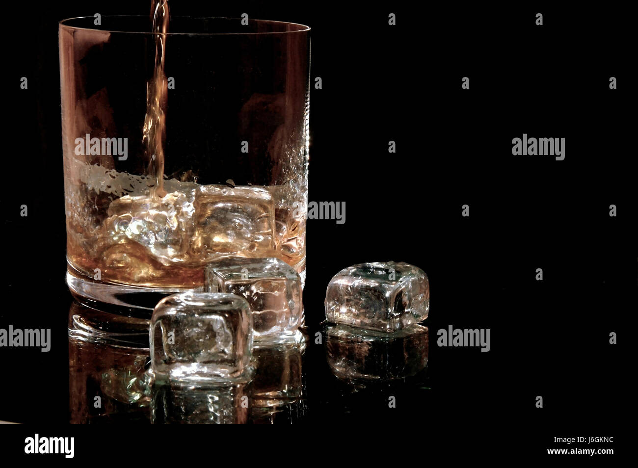 Drink Liquid Flow Alcohol Ceramic Tiles Mould Whiskey Motion Stock