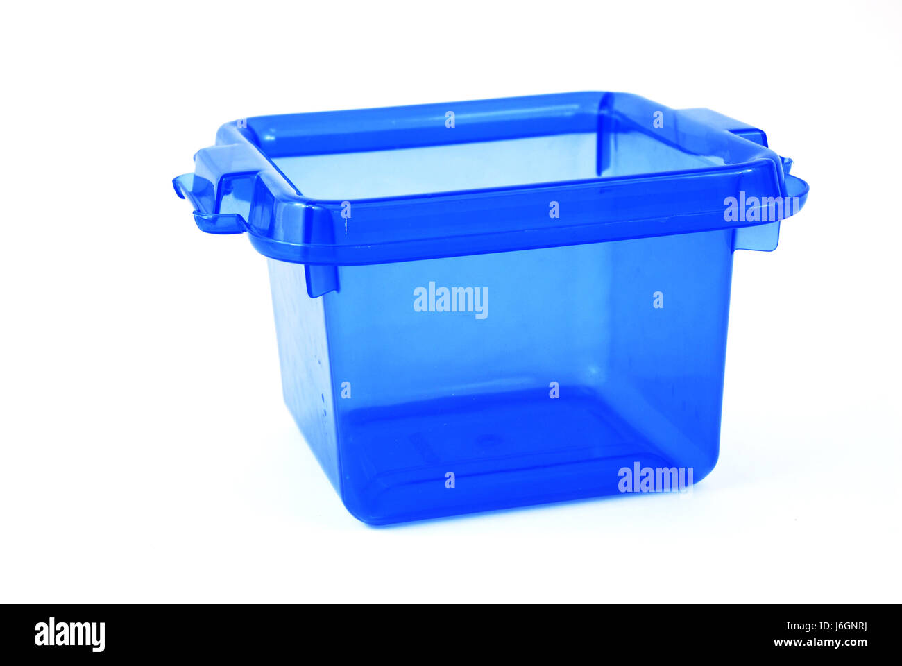 Blue Plastic Synthetic Material Store Bath Tub Tub Bathtub Storage Bin Blue