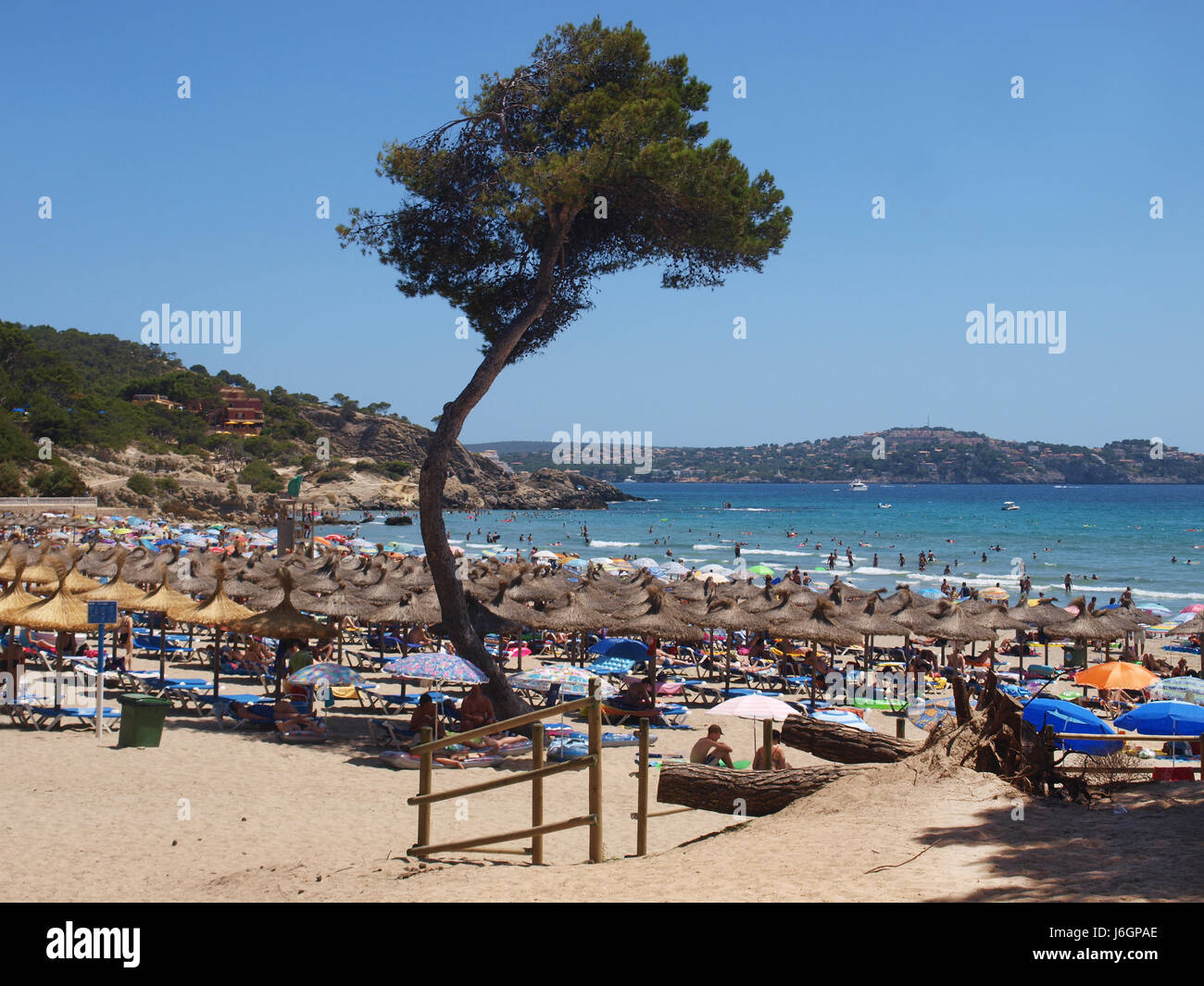 Paguera Beach Stock Photo Alamy