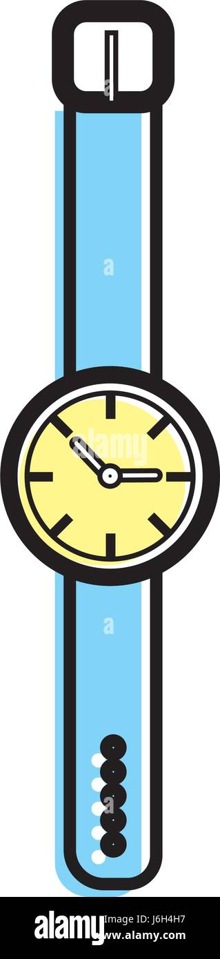 nice watch to know the time of day - Stock Image