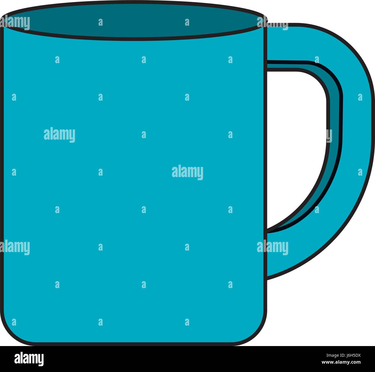 cup to drink with nice design - Stock Image