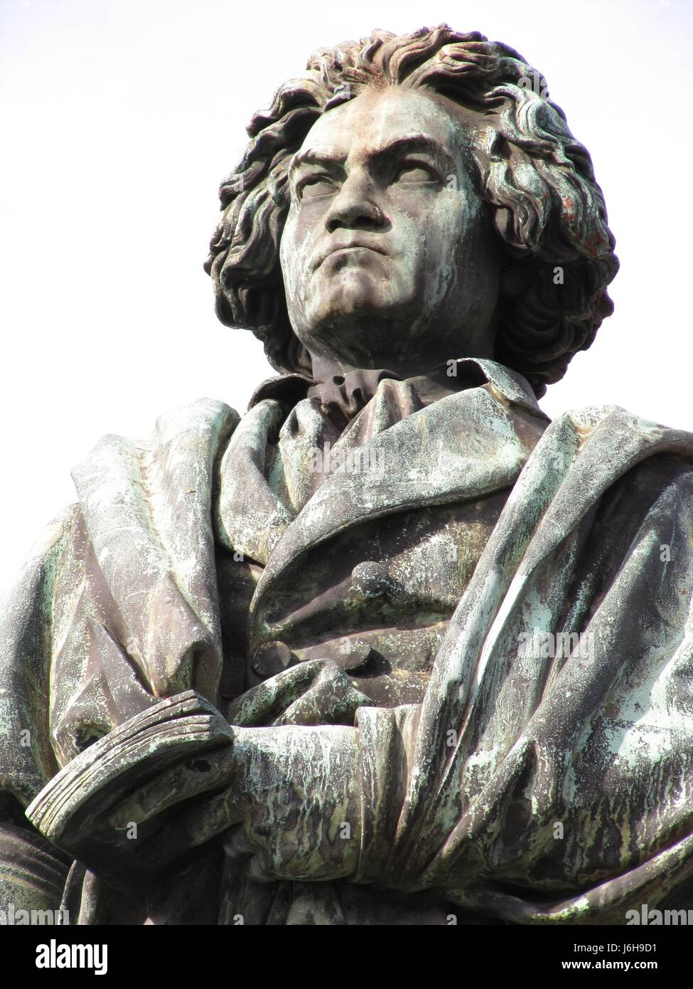 story monument composer personage personality man historical music famous - Stock Image