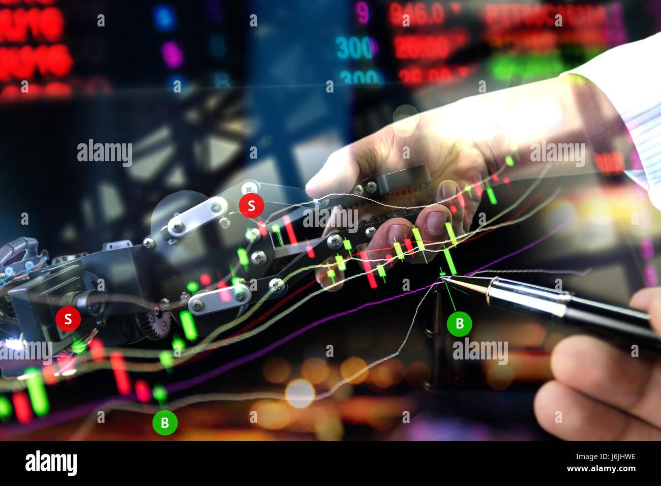 Trader robot system