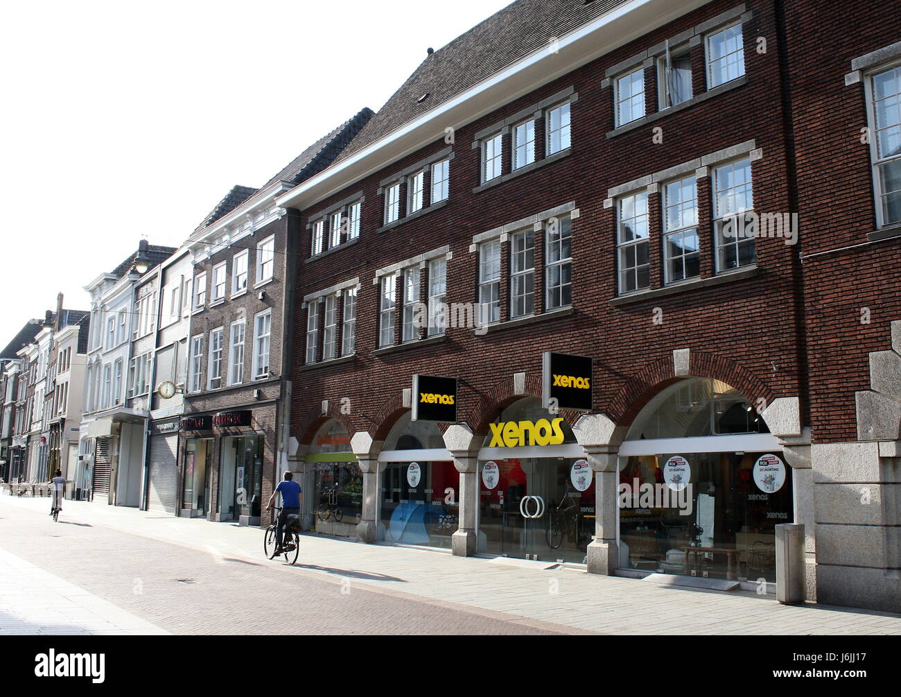 Xenos retail chain store located at central Hinthamerstraat in Den Bosch, North Brabant, Netherlands - Stock Image