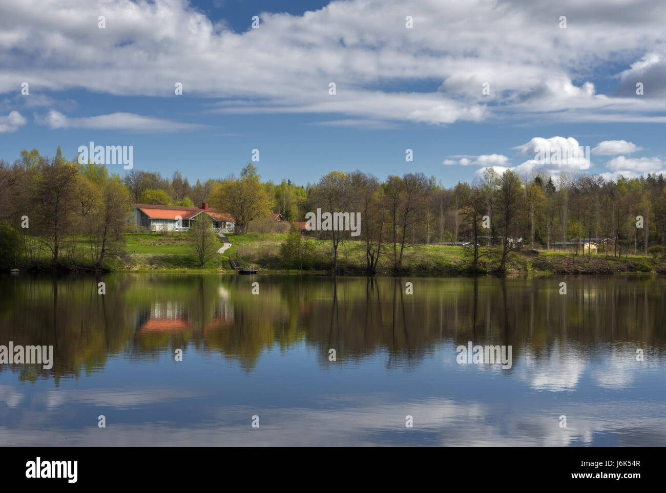 Beautiful reflection,light and shados Stock Photo