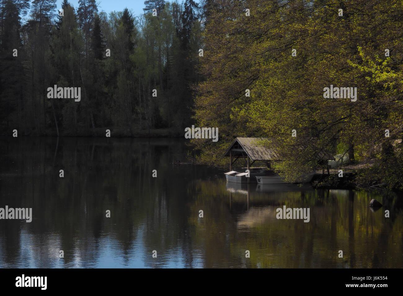 Beautiful reflection,light and shados - Stock Image