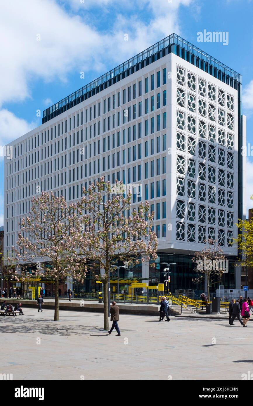 No.2 St. Peter's Square building in Manchester UK - Stock Image
