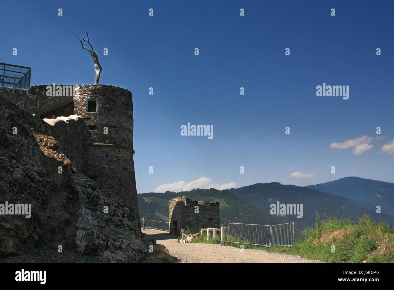 burg landskron Stock Photo