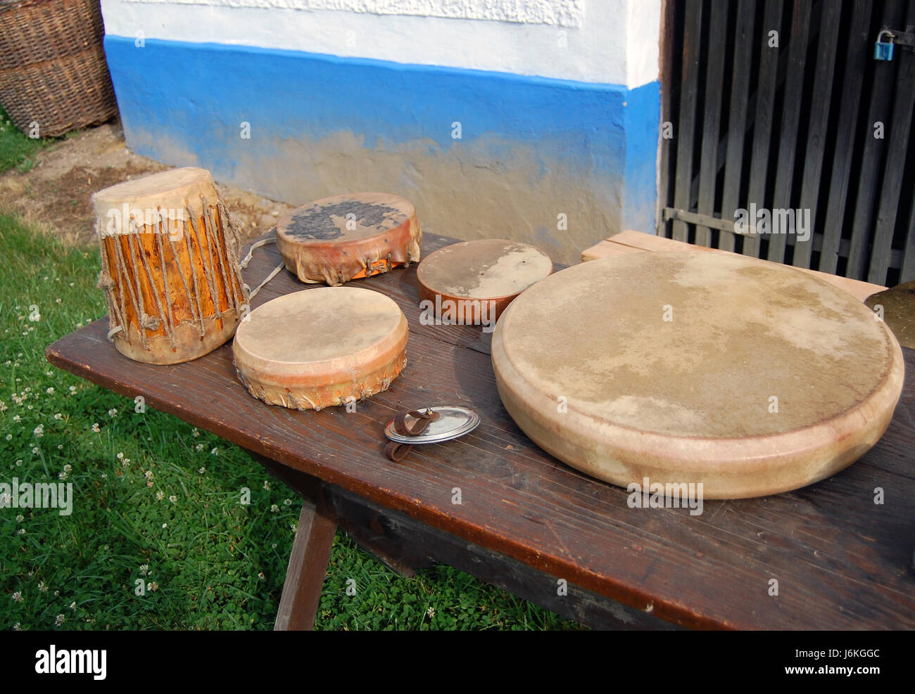 African Drum Hide Stock Photos Amp African Drum Hide Stock