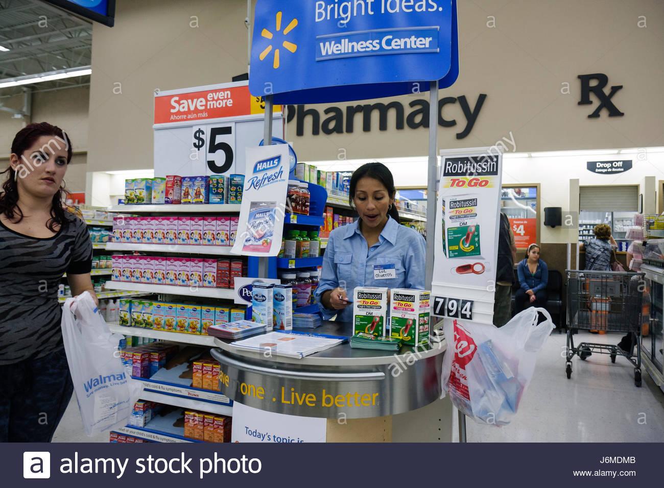 Miami Hialeah Florida Wal-Mart Walmart shopping free samples