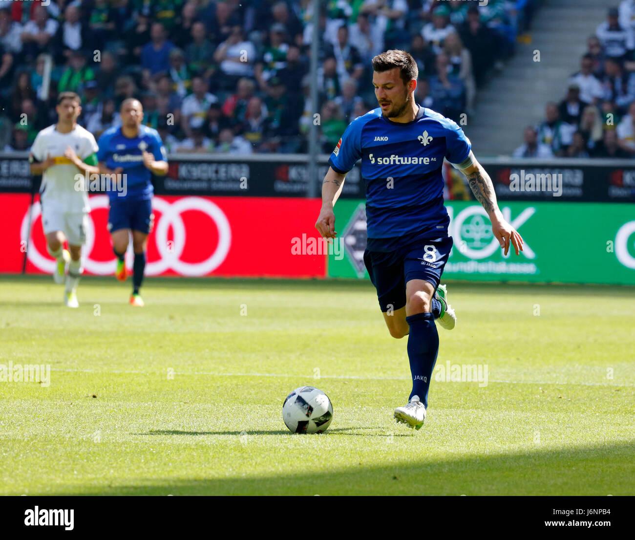 sports, football, Bundesliga, 2016/2017, Borussia Moenchengladbach vs SV Darmstadt 98 2:2, Stadium Borussia Park, - Stock Image