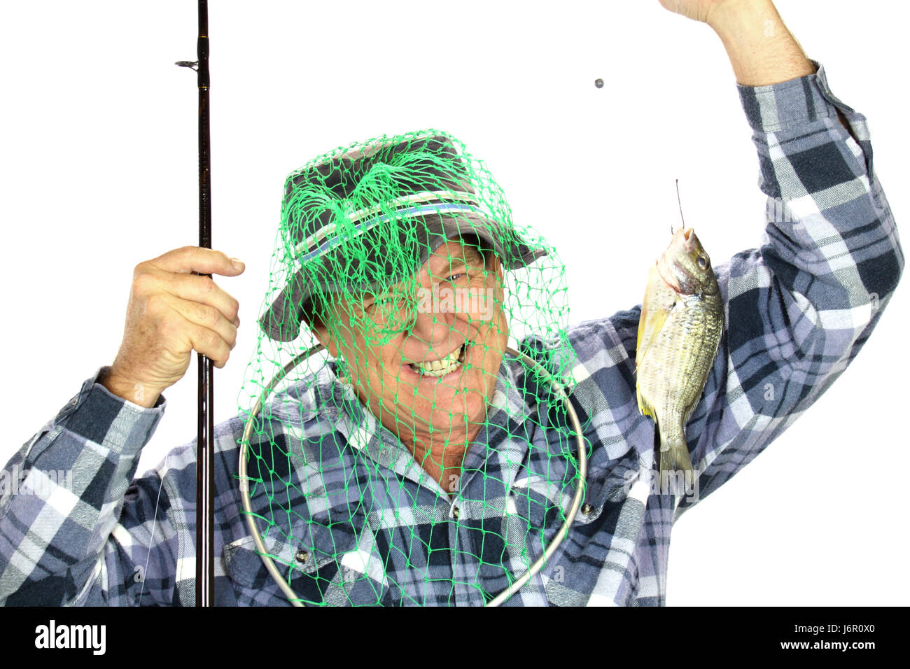 Image of: Funny Pictures Fish Net Fishing Silly Fisherman Accidental Random Angler Head Laugh Laughs Tenor Fish Net Fishing Silly Fisherman Accidental Random Angler Head Laugh