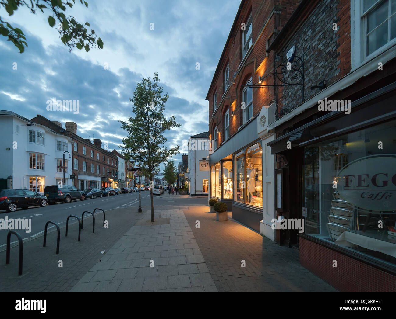 Marlow in Buckinghamshire, UK Stock Photo
