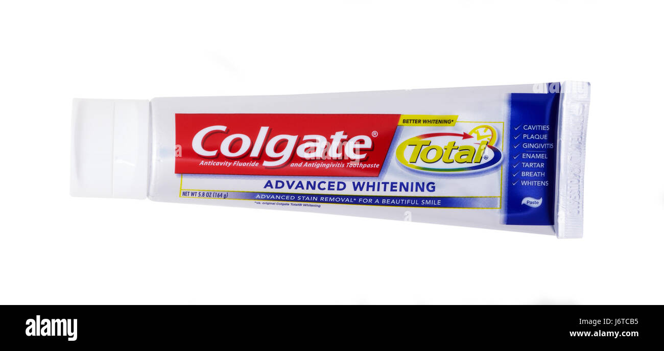 Colgate Total toothpaste - Stock Image