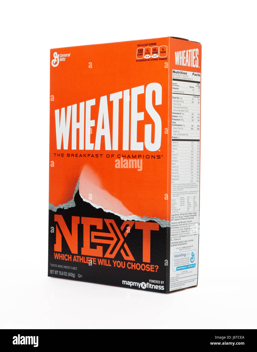 Box of Wheaties Cereal - Stock Image