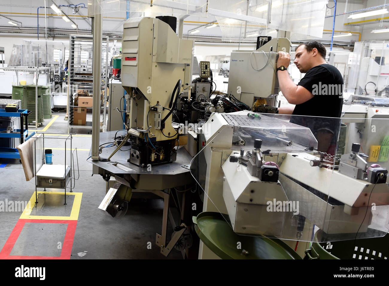 Production of company KES a producer of wiring harnesses for car ...