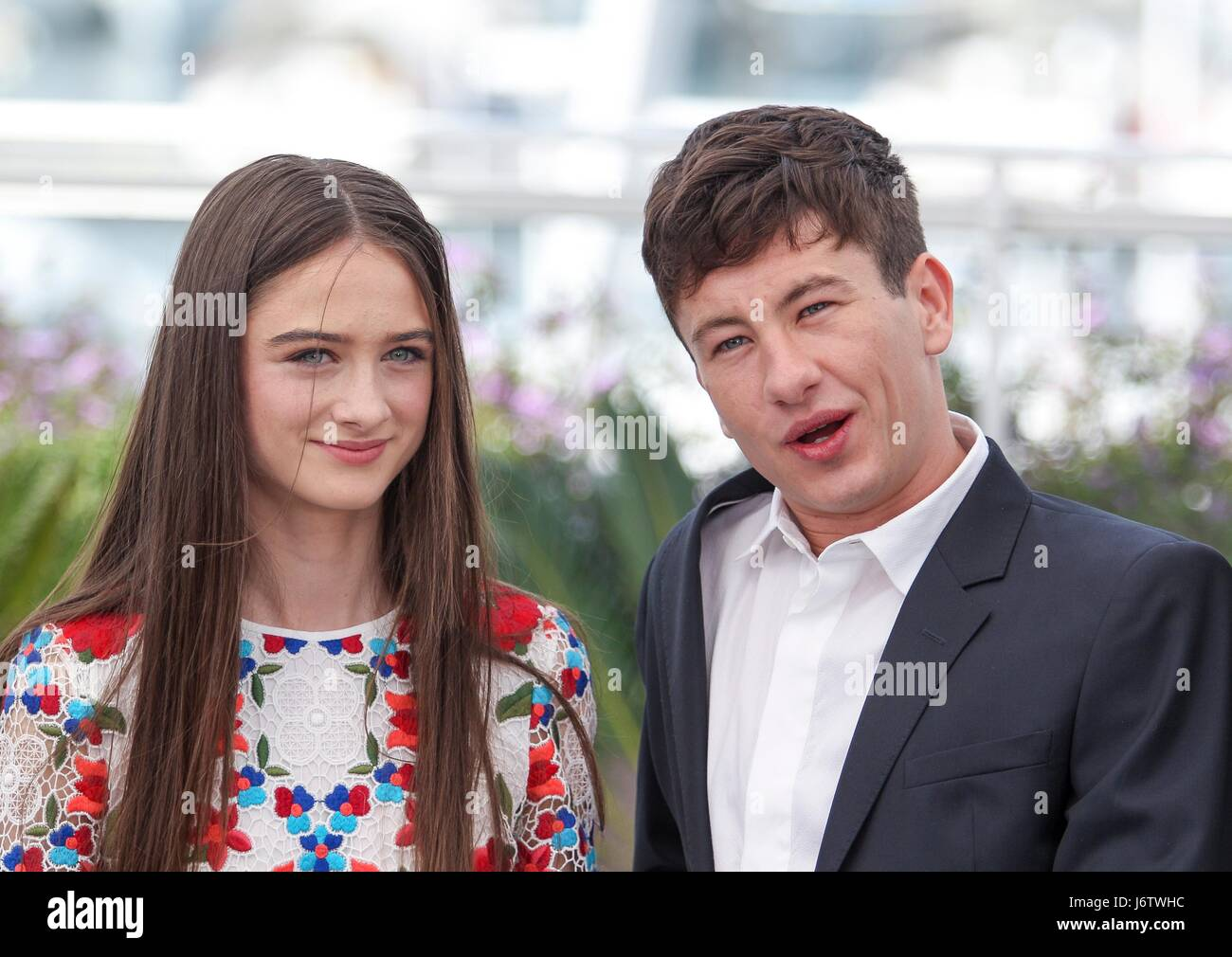 foto Raffey cassidy at the killing of a sacred deer screening cannes film festival