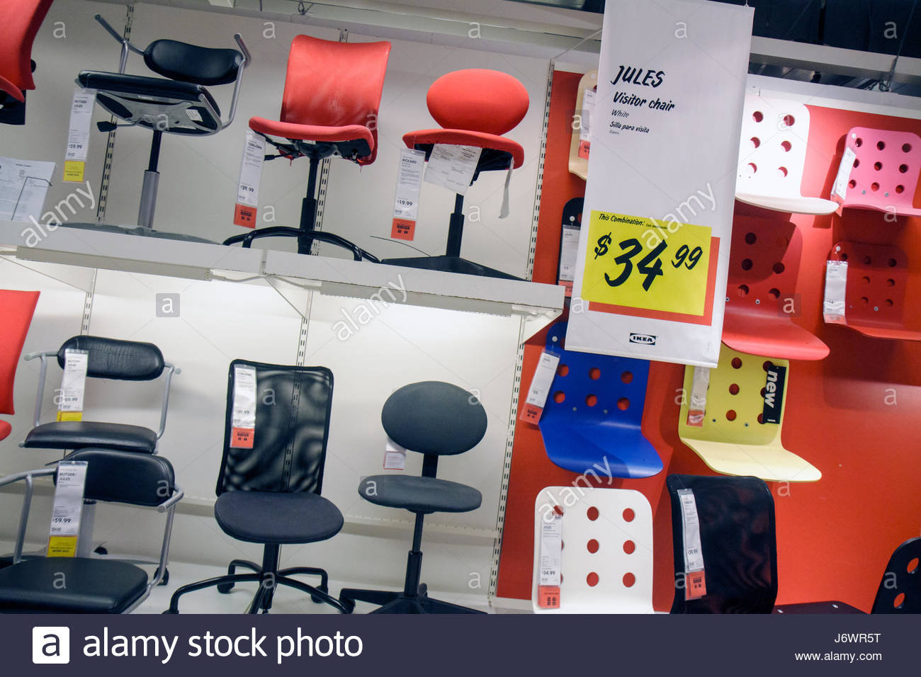 Fort Lauderdale Ft. Florida Sunrise IKEA Home Furnishings Shopping Retail  Display For Sale Furniture Office Chairs