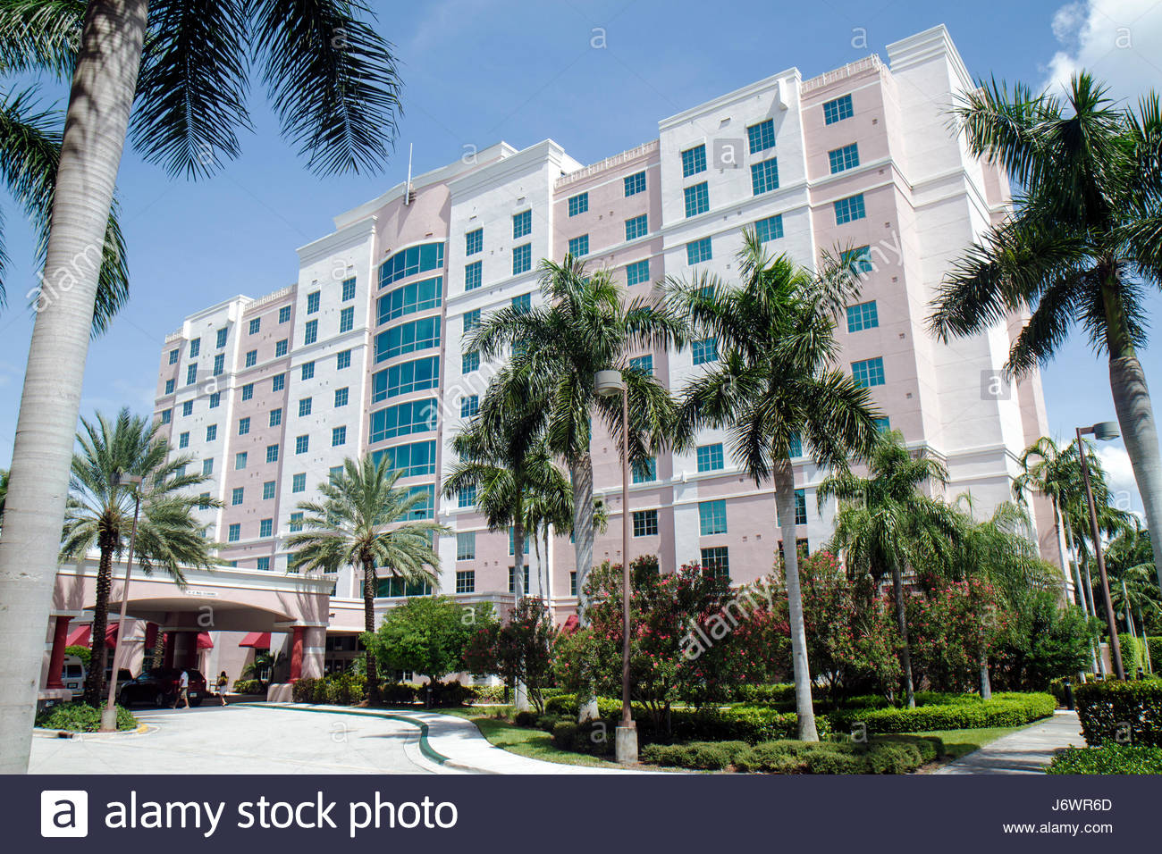 Fort Lauderdale Ft. Florida Sunrise Crowne Plaza at Sawgrass Mills hotel building - Stock Image
