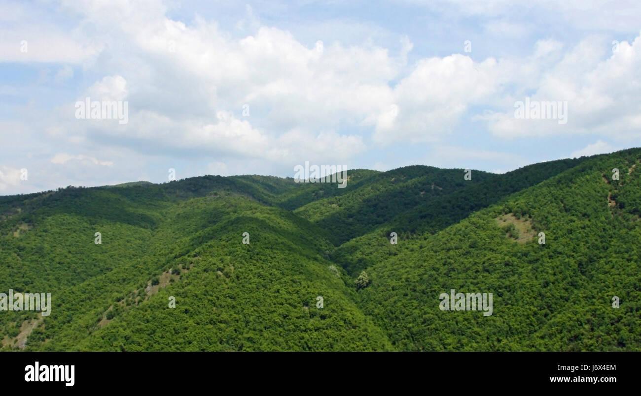 mountain,kosovo,europe - Stock Image