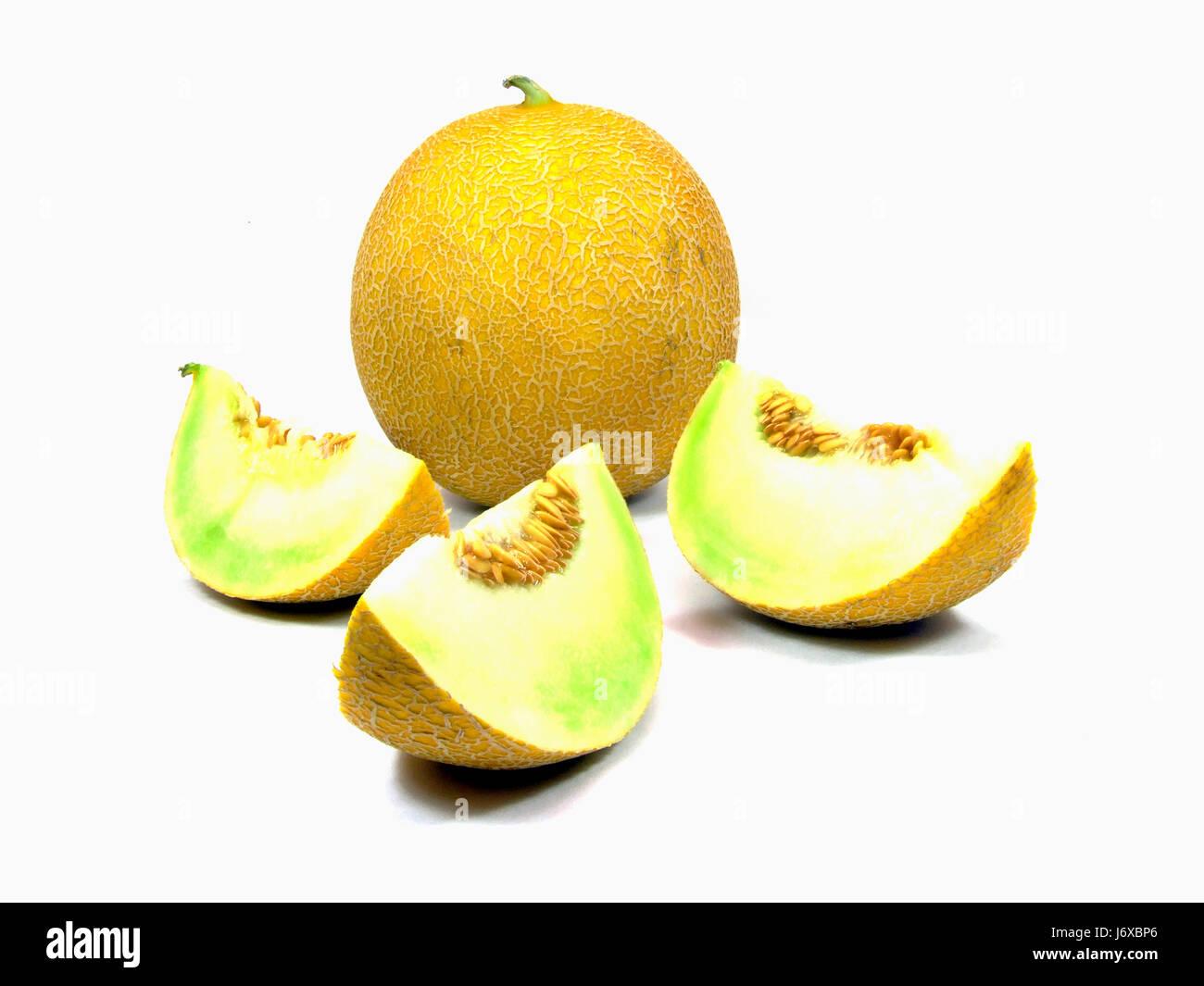 galiamelone (cucumis melo) Stock Photo