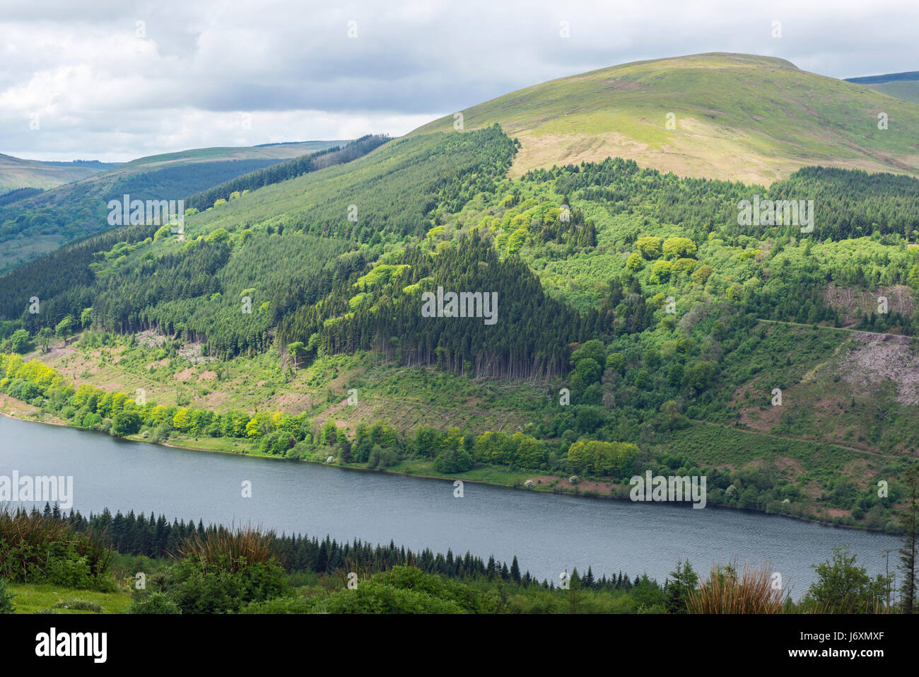 The Talybont Valley Brecon Beacons National Park - Stock Image