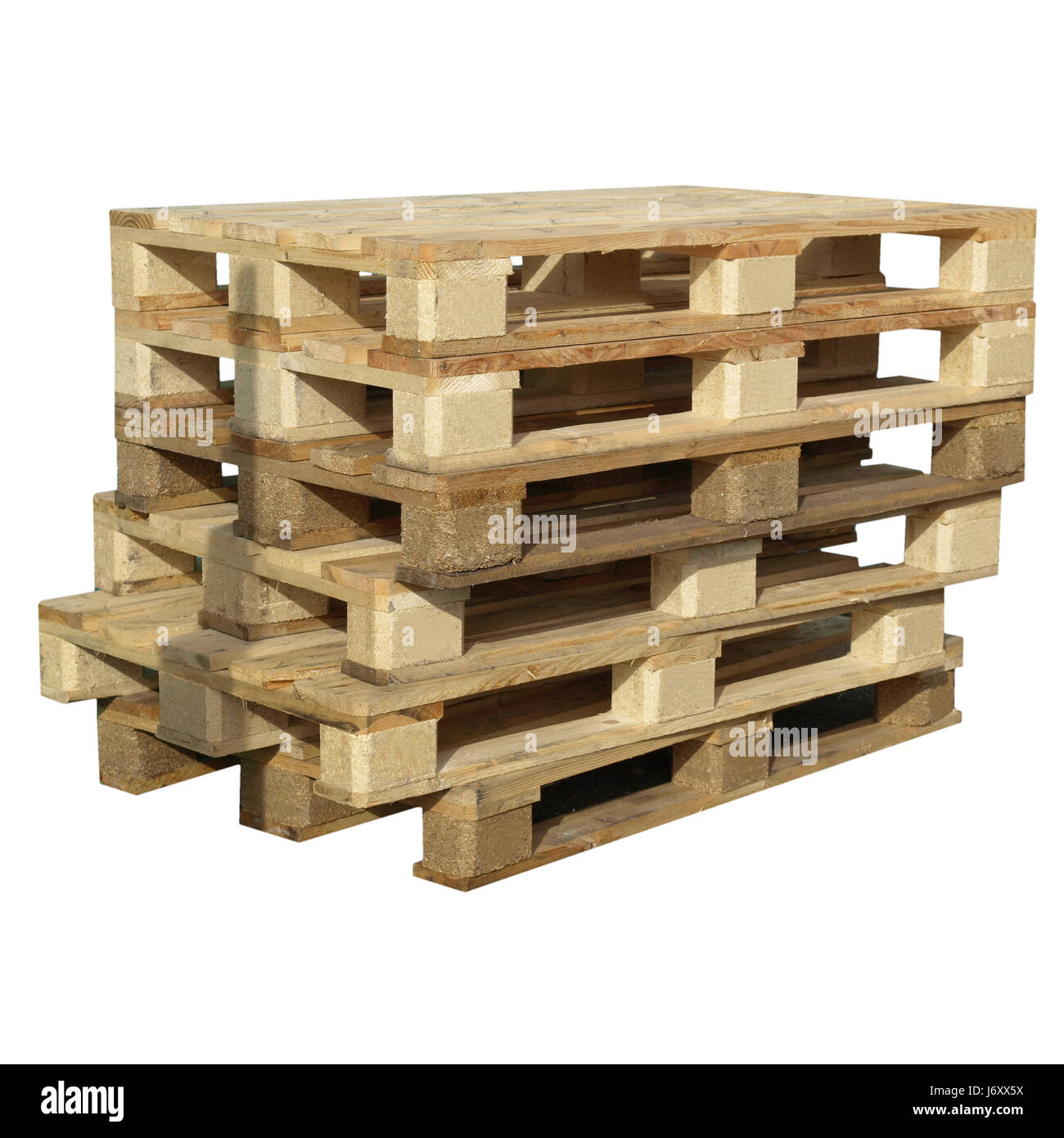 isolated transport pallet skid shipping backdrop background