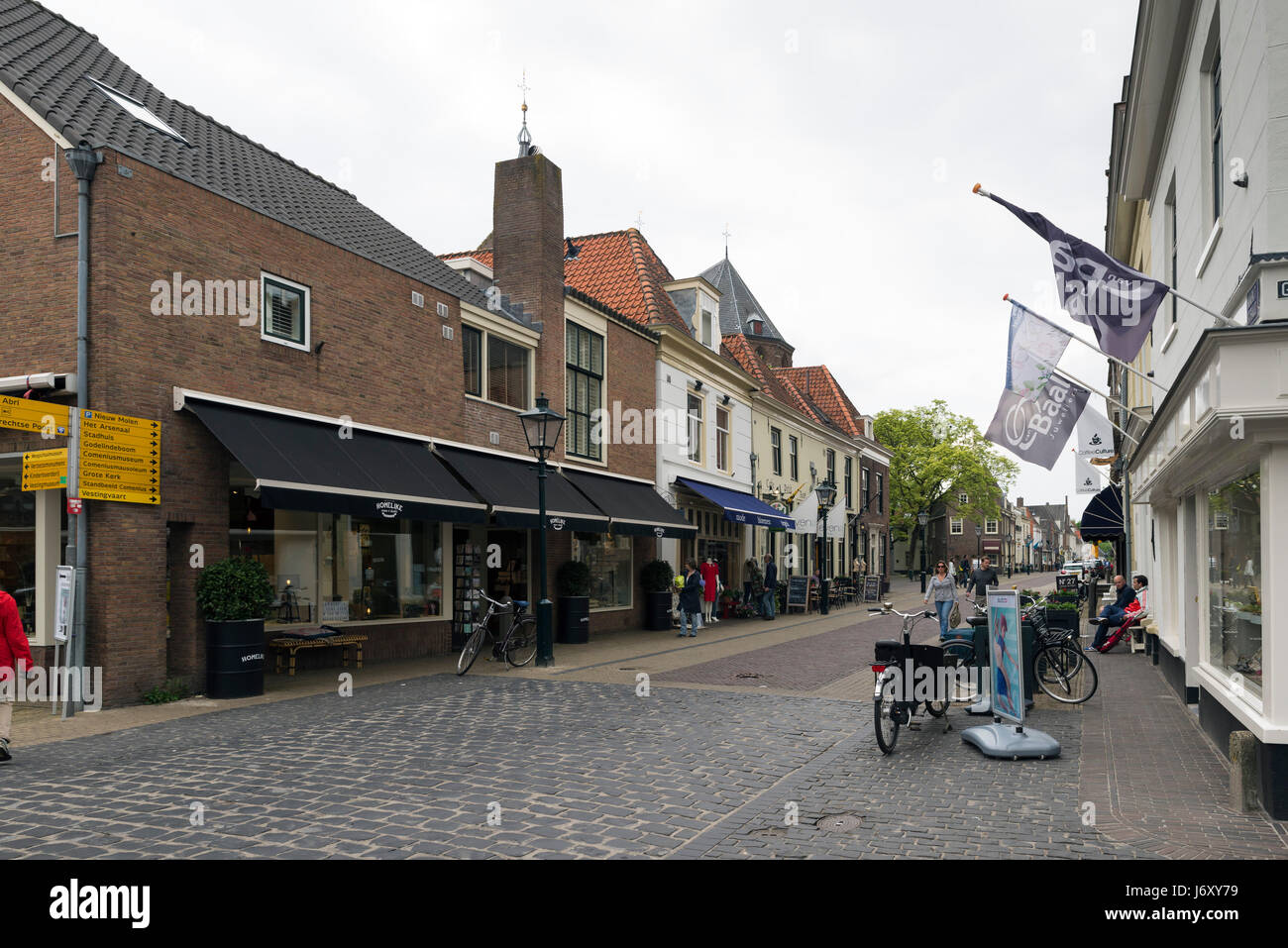 NAARDEN - NETHERLANDS - MAY 13, 2017: Naarden is a city and former municipality in the Gooi region in the province Stock Photo