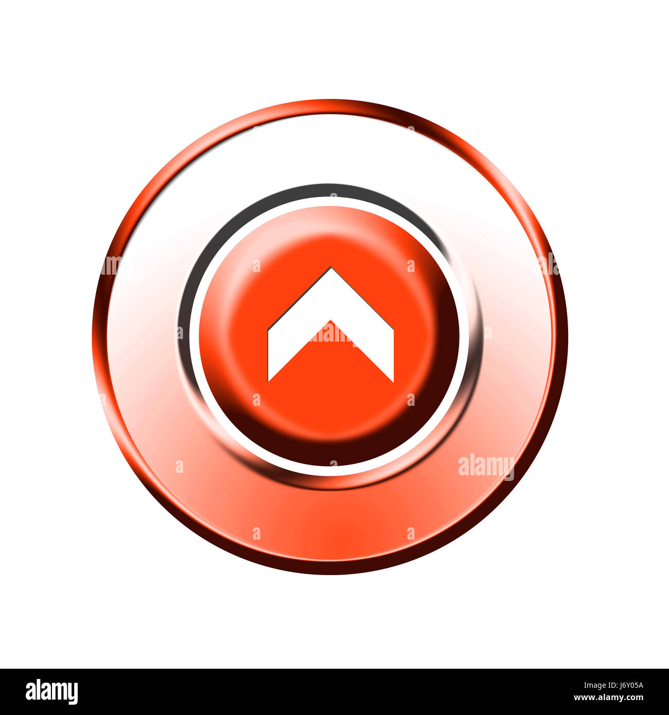 up button Stock Photo