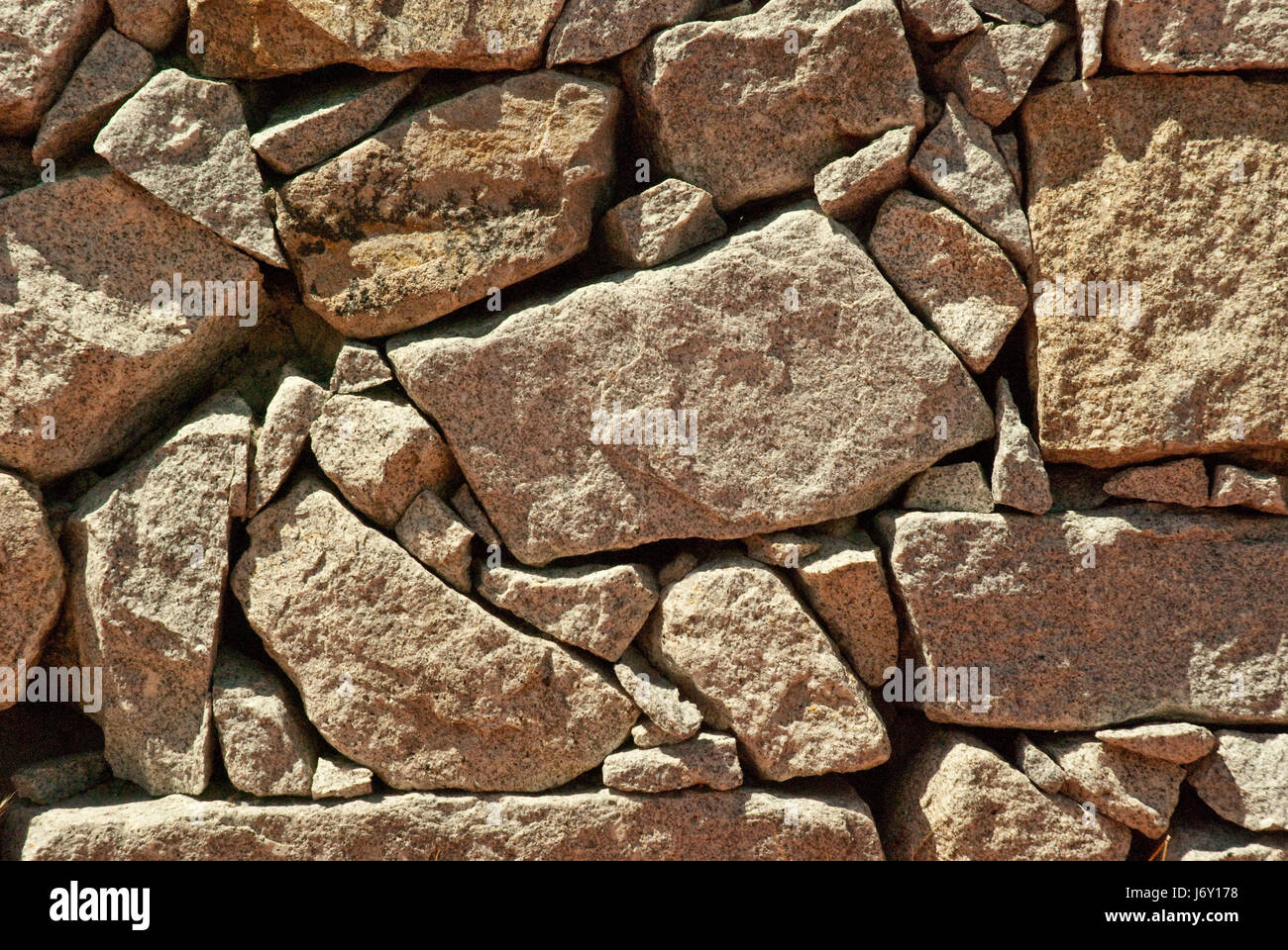 wall style of construction architecture architectural style abstract aged - Stock Image