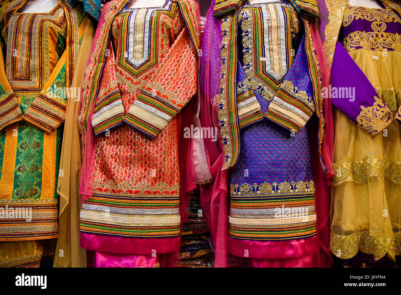 Oman Muscat  Traditional garments - Stock Image