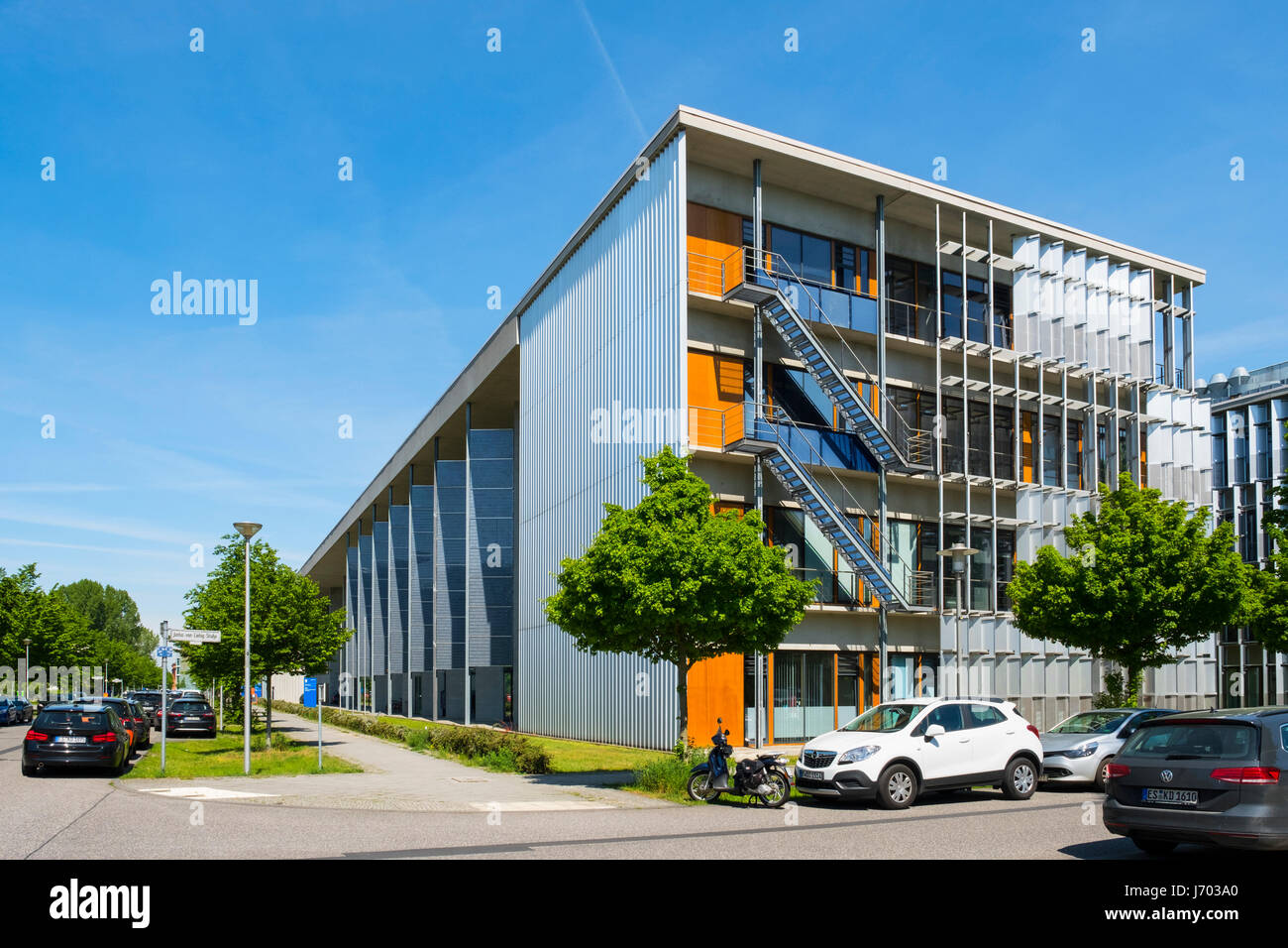 Centre of Biotechnology and the Environment  at Adlershof Science and Technology Park  Park in Berlin, Germany - Stock Image