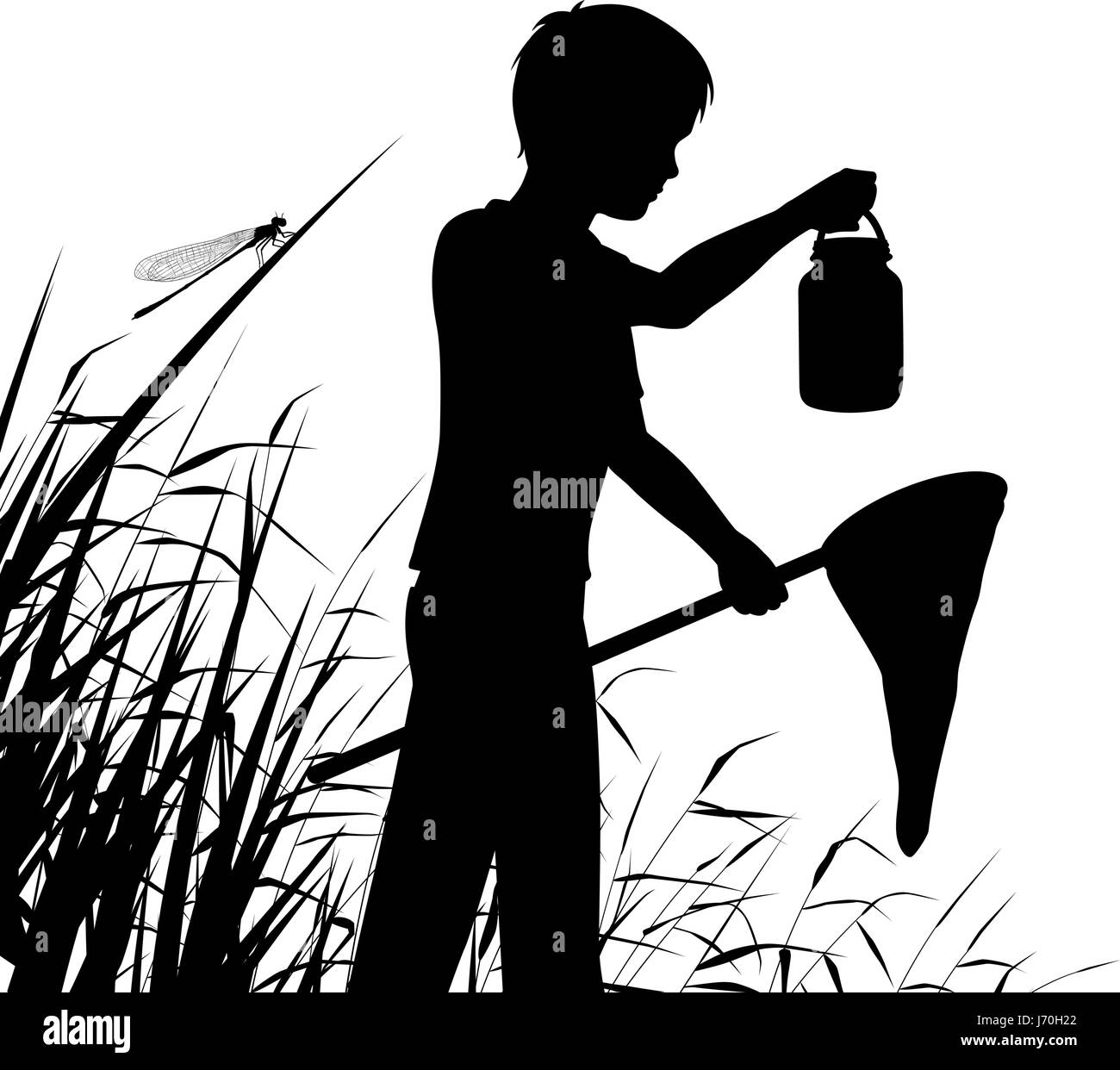 Image result for pond dipping silhouette