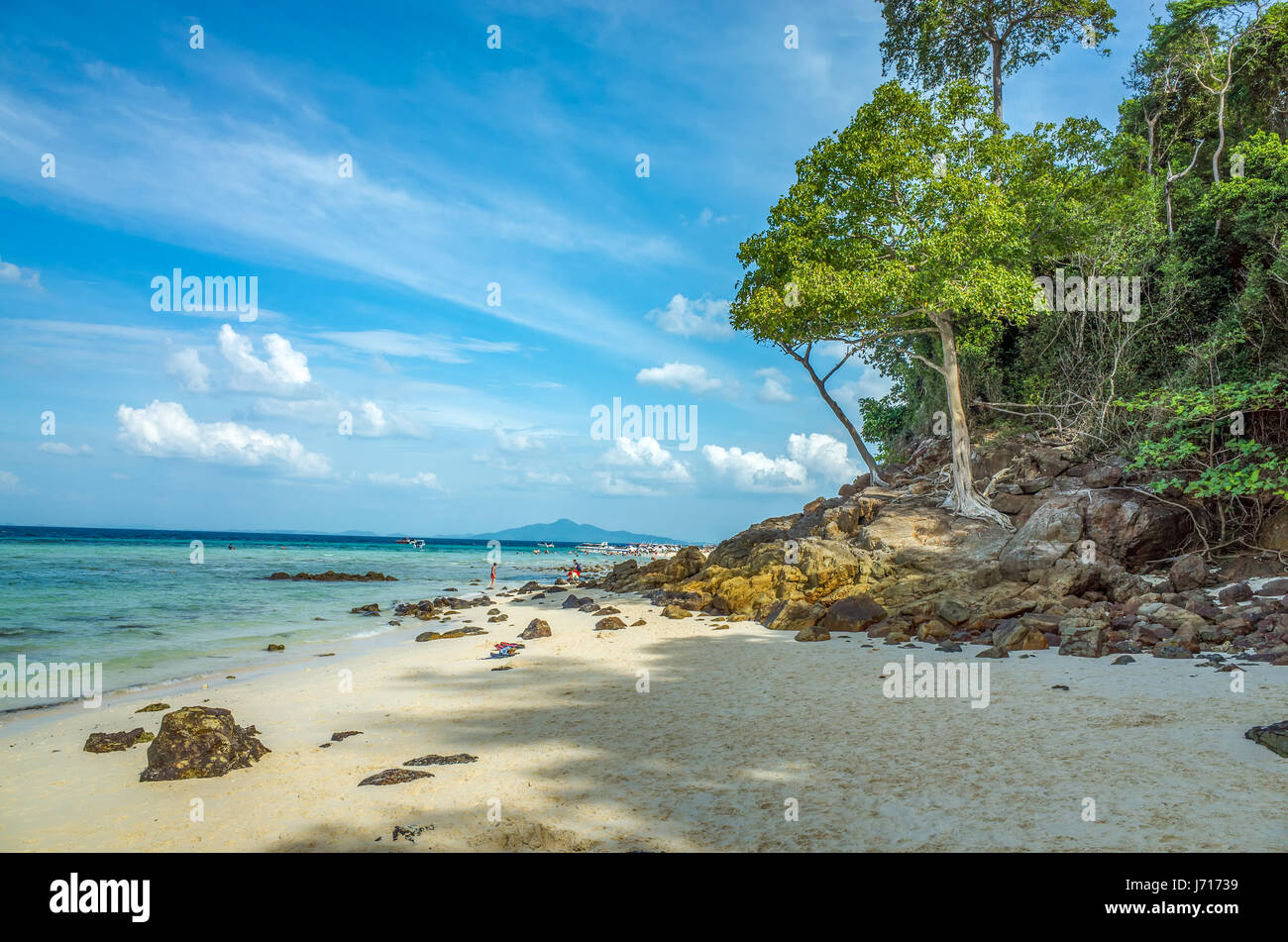 Coast of Phuket, Thailand - Stock Image