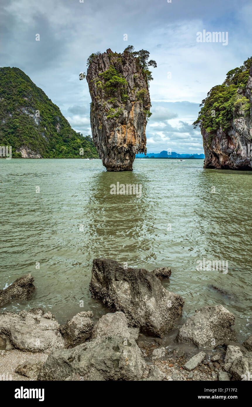 National Park of Phang-Nga, Thailand - Stock Image