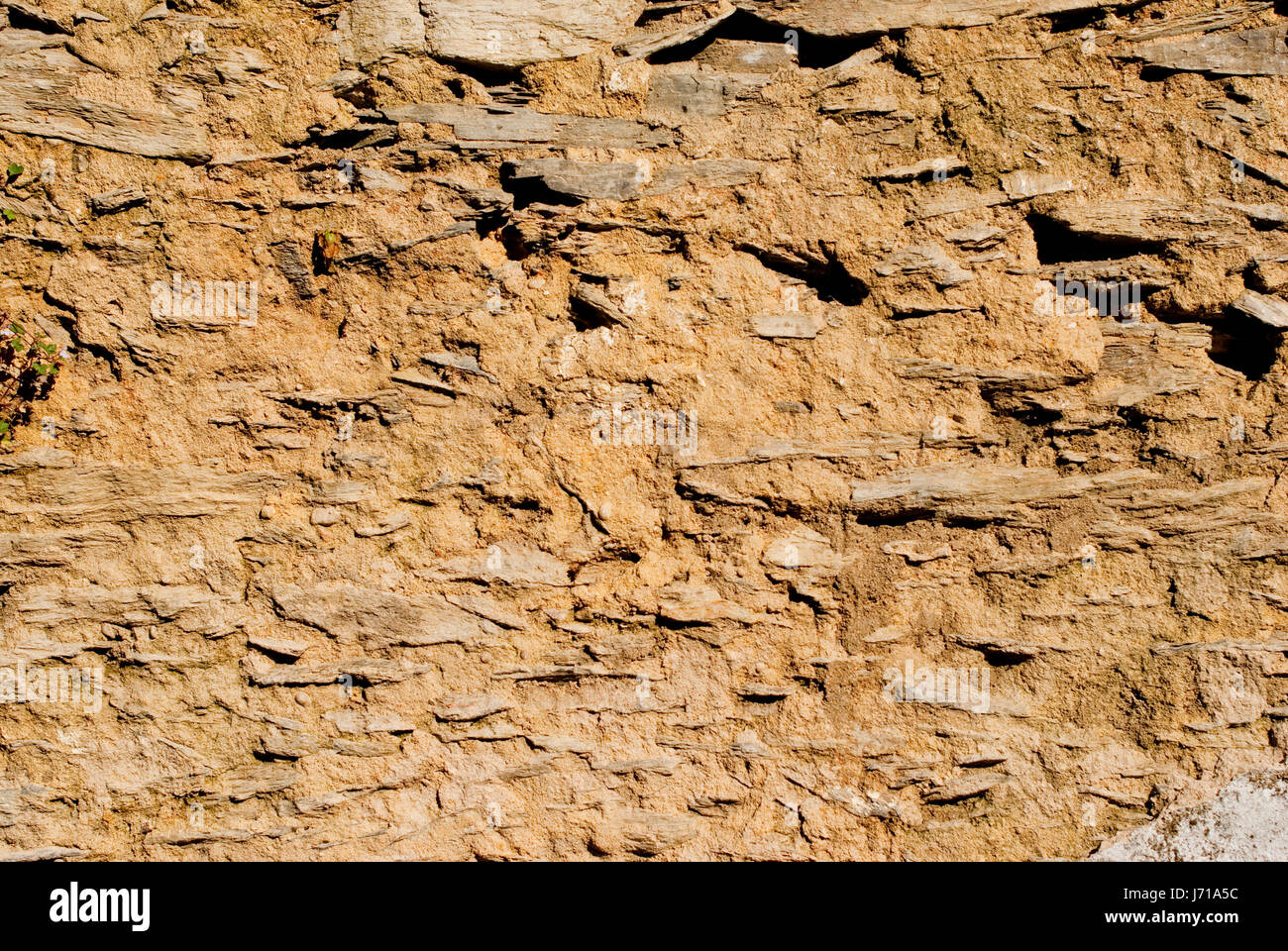 build detail historical city town wall outside material drug anaesthetic - Stock Image