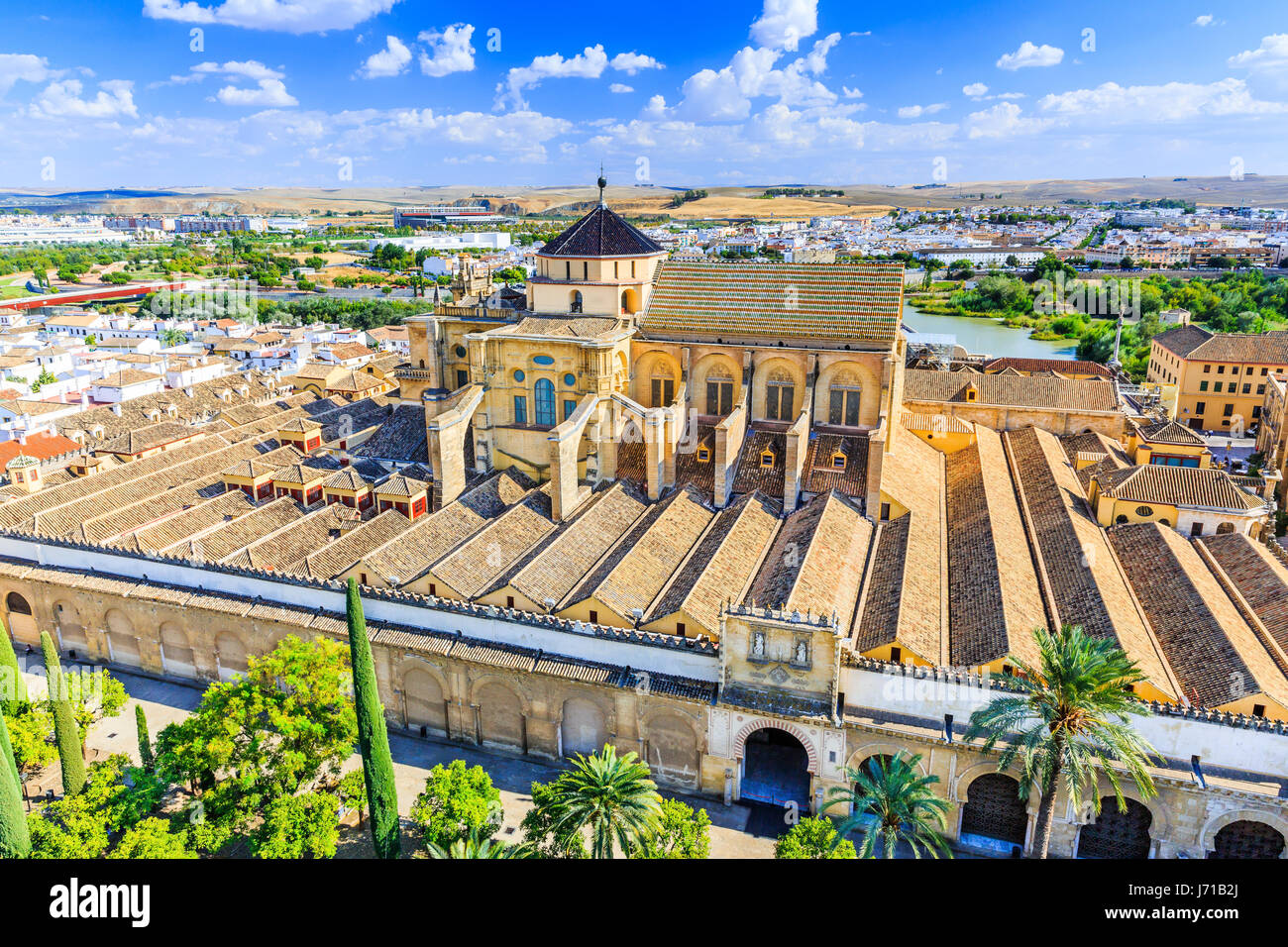 Cordoba, Spain. The Mezquita Mosque-Cathedral. - Stock Image