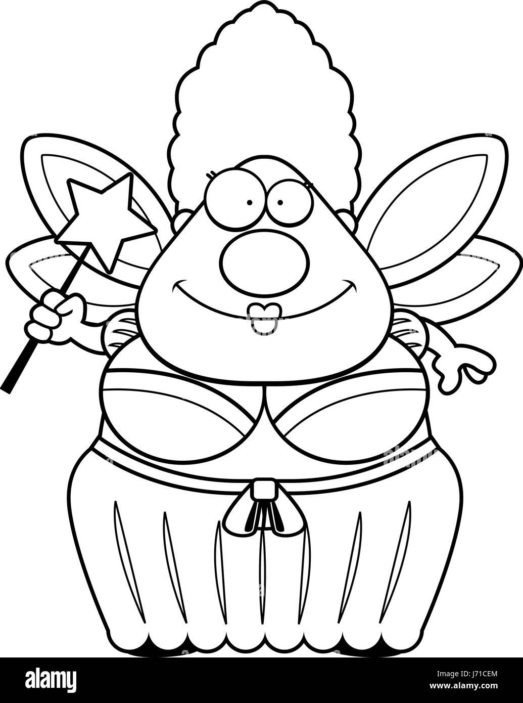 Fairy Wand Cartoon Black And White Stock Photos Images Alamy