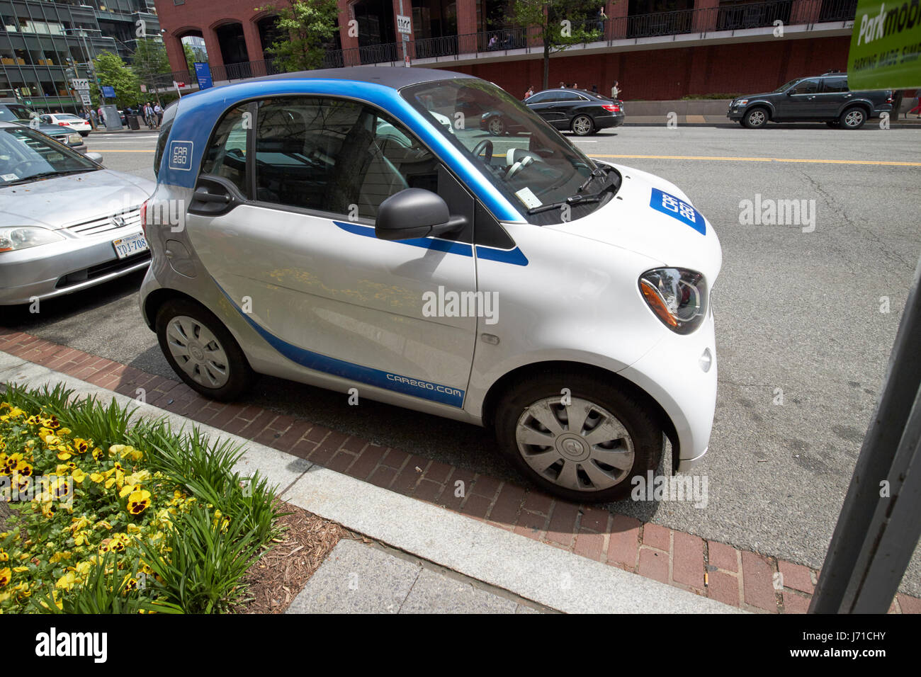 Car2go Car 2go Car Sharing Scheme Washington Dc Usa Stock Photo